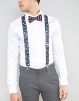 Asos Holidays Bow Tie And Suspenders Gift Set