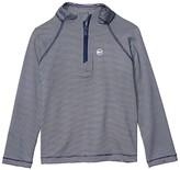 Vineyard Vines Kids Sankaty 1/2 Zip (Toddler/Little Kids/Big Kids) (Blue Depth) Boy's Sweatshirt