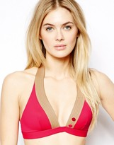 Huit Smarty Foam Padded Halter Bikini Top