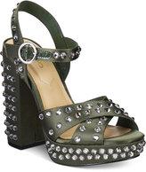 Aldo Britain Two-Piece Platform Block-Heel Sandals