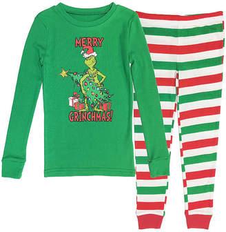 Dr. Seuss Grinch Family Boys 2 Piece Pajama Set - Preschool/Big Kid