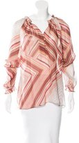 Robert Graham Long Sleeve Printed Blouse
