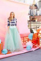Shabby Apple Wooster Tulle Skirt Mint