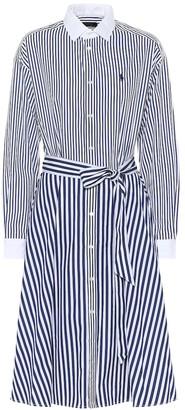 Polo Ralph Lauren Striped cotton-poplin shirt dress