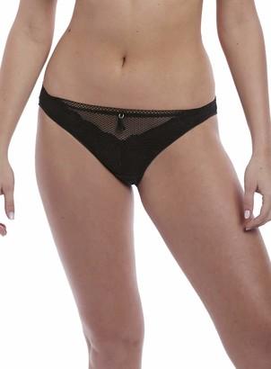 Freya Women's Expression Crochet-Look VPL-Free Lace Brief Underwear