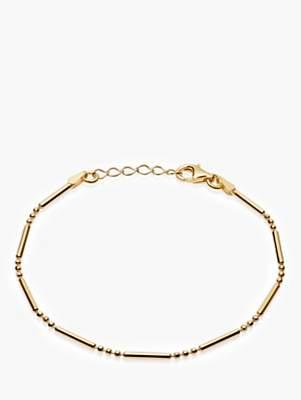 Daisy London Stacked Bead and Bar Chain Bracelet