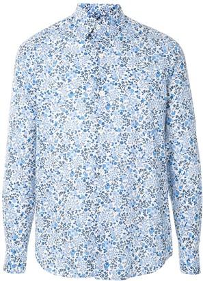 agnès b. Andy cotton floral shirt
