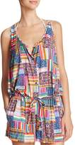 Profile Blush by Gottex Candy Apple Romper Swim Cover Up