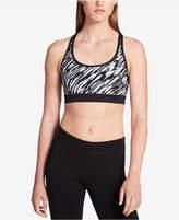 Calvin Klein Medium-Support Strappy Back Sports Bra