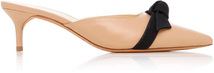 Alexandre Birman M'O Exclusive Daisy Leather Mules