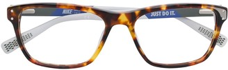 Nike Havana Square Glasses