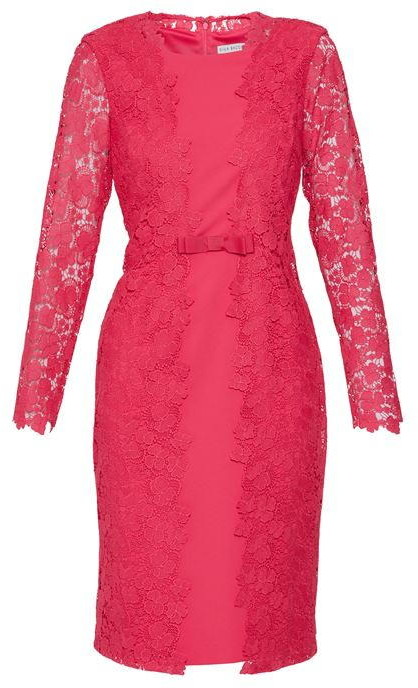 Thumbnail for your product : Gina Bacconi Summer Lace And Crepe Dress