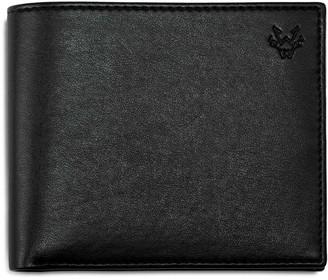 Watson & Wolfe Classic Eco Leather Wallet In Black