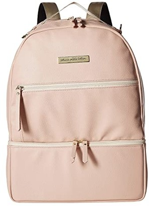 Petunia Pickle Bottom Axis Backpack (Blush Leatherette) Diaper Bags