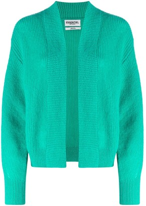 Essentiel Antwerp Ribbed Open-Front Cardigan
