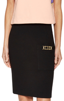 Love Moschino Above The Knee Pencil Skirt