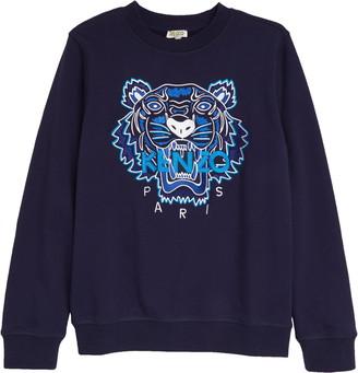 Kenzo Tiger Icon Embroidered Sweatshirt