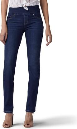 Lee Women's Size Sculpting Fit Slim Leg Pull On Jean