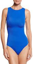 OYE Swimwear Carlotta Strappy Zip-Back One-Piece Swimsuit