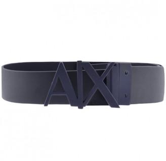 Armani Exchange Reversible Belt Navy