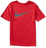Nike Dri-FIT Swoosh Short-Sleeve Training Tee