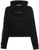 Tommy Sport Tommy Cropped Hoodie