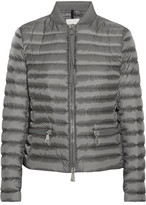 Moncler Blen Quilted Shell Down Jacket - Gray