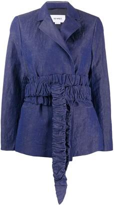 Sunnei Fitted Tie-Waist Blazer