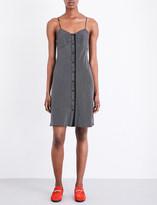 Rag & Bone Lois silk-satin slip dress