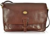 The Bridge Dark Brown Leather Large Shoulder Bag