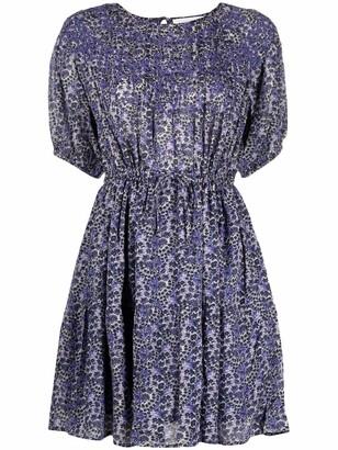 BA&SH Iris abstract-print mini dress