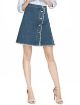 Draper James Denim Wrap Skirt