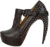 Walter Steiger Leather Studded Booties
