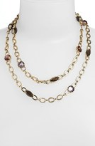Anne Klein Long Station Necklace