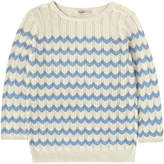 Cath Kidston Knitted Chevron Sweater