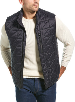 Andrew Marc Bramble Quilted Vest