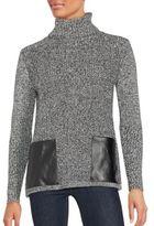 August Silk Cotton-Blend Long Sleeve Pullover