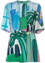 OSKLEN x Tarsila printed blouse