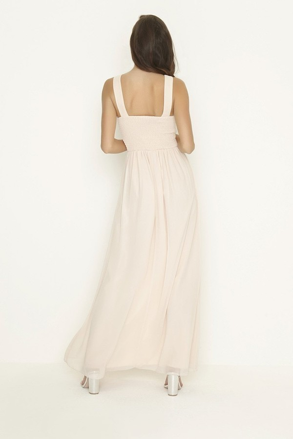 Thumbnail for your product : Little Mistress Carmen Pearl Top Sleeveless Maxi