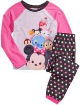 Disney 2-Pc. Tsum Tsum Pajama Set, Little Girls (4-6X) and Big Girls (7-16)