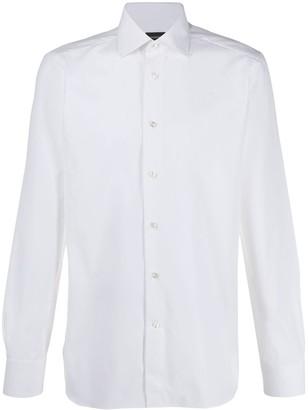 Ermenegildo Zegna long-sleeved buttoned shirt