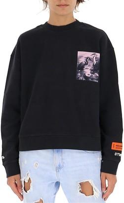 Heron Preston Patch Printed Sweater