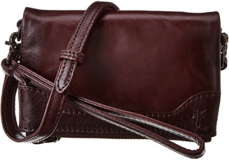 Frye Melissa Leather Stadium Bag