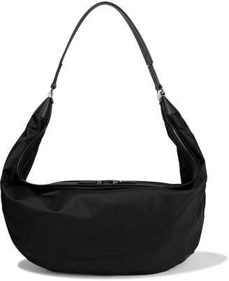 The Row Sling 15 Leather-trimmed Shell Shoulder Bag