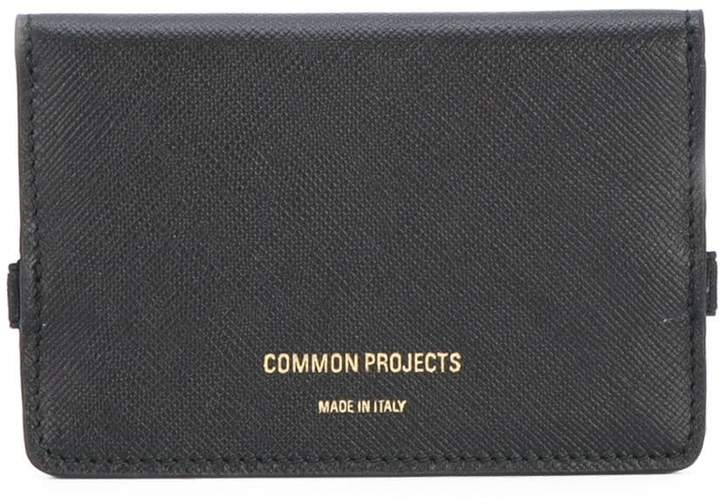 Common Projects logo cardholder wallet