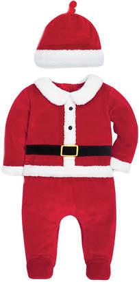 Jo-Jo Jojo Maman Bebe Santa Sleepsuit & Hat Set