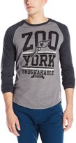 Zoo York Men's Icarus Long Sleeve Raglan Shirt