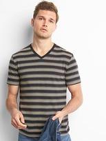 Gap Mix stripe V-neck tee