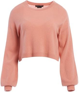 Alice + Olivia Ansley Wide Sleeve Cropped Sweater