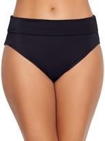 Fold-Over Shaping Bikini Bottom